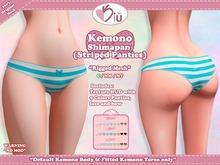 *>Kiu<* - Kemono Shimapan (Striped Panties)