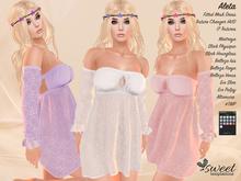 Sweet :: Aleta Dress, Maitreya Lara, Slink (P; H), Venus, Isis, Freya, #TMP, Eve, Altamura - 17 Tex