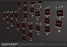 EasyCraft - LED Lights with Heart Clip Decor Kit