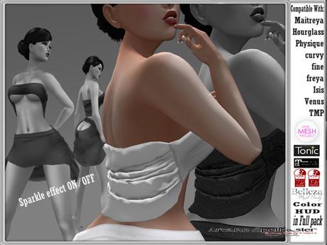bag Top Viviana white W/S *Arcane Spellcaster* Ak-Creations