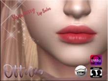 Ottilie - Strawberry Lip Balm - Catwa Lipstick GIFT