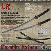 Masahiro Katana (box) - double sword