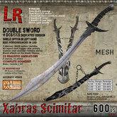 Xabras Scimitar (box) - double sword