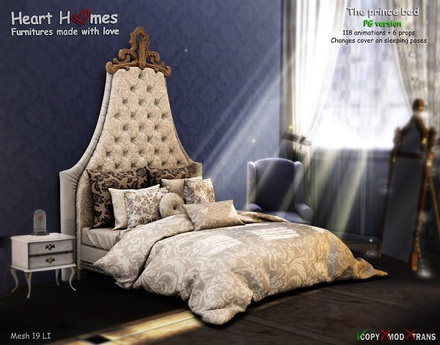 <Heart Homes> Prince Bed (PG)