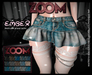 zOOm - Ember Ruffled Jeans Skirt HUD 15 JEANS COLORS!!