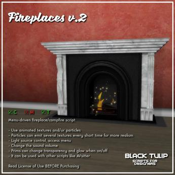 [Black Tulip] Script - Fireplaces v2