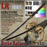 Dryke Katana (box) - double sword