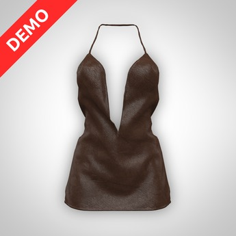ANOIRCRE Cuir Dress DEMO (Mesh)