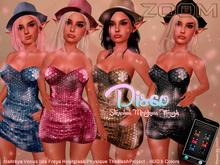 zOOm - Disco Minidress HUD COLORS
