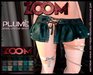 zOOm - Plume Jeans LaceUp Skirt - HUD 18 COLORS