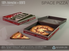 Space PIZZA V.3 (Consumable Mesh Materials BENTO) [NeurolaB Inc.]