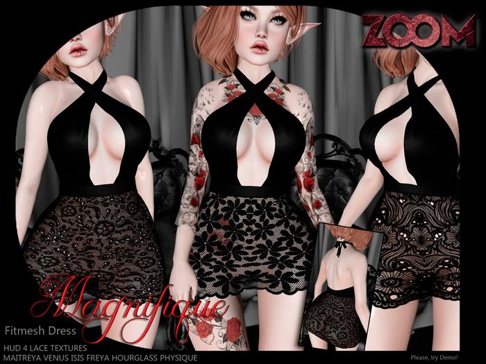 zOOm - Magnifique Dress HUD TEXTURES