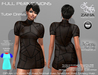 Full Perm-ZAFIA Tube Dress-Belleza