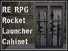 RE RPG Rocket Launcher Cabinet - Heavy Arms Gun Case