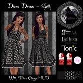 Diana Dress Goth (JR Wolf Creations)