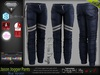 JASON BLUE Male Jogger Pants MESH - ADAM, AESTHETIC, SIGNATURE GIANNI, SLINK, TMP, JAKE - FashionNatic