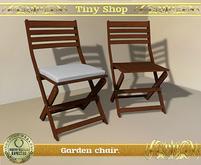 Garden chair, 100% mesh (full perm).