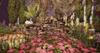 CJ Cascading Pond Spring with bunnys - c+m - Sit Animation + Prop