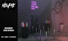 Newphe - Club Entrace Backdrop (Wear)