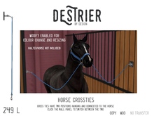 Destrier by Design - Crossties - Click the wallpanel to change