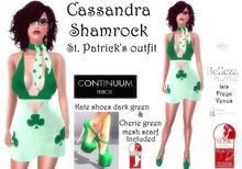 Continuum Cassandra Shamrock outfit