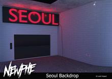 Newphe - Seoul Backdrop