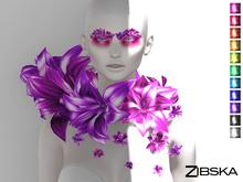 Zibska ~ Florenz Color change Collar and Brows