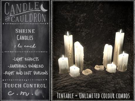 {C&C} Shrine Candles