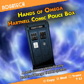 Hands of Omega (HoO) Exterior  - Hartnell Comic Police Box