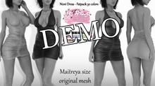 Niovi EXCLUSIVE Female Dress Mesh- MAITREYA LARA - DEMO VERSION CB collection
