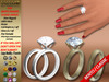 [SuXue Mesh] For Bento & Classic Hands Unrigged Wedding Rings Bands Aime Hud Resize Marriage Proposal Pose Female Demo