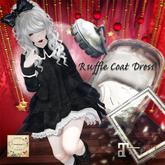 ***Ambrosia***Ruffle Coat Dress[FAT PACK]