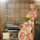 ***Ambrosia*** 2017YUKATA[chrysanthemum red]