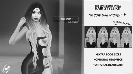 #Foxy - Morgana Hair DEMO