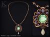 KUNGLERS - Jeska necklace - Alexandrite