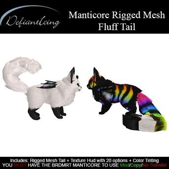 DefiantIcing - Manticore Fluff Tail
