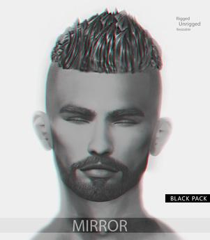 MIRROR - Michael Hair -Black Pack-