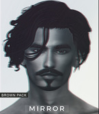MIRROR - Raul Hair -Brown Pack-