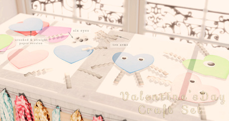 Mannequin - Valentines Day Craft Set { Pink }