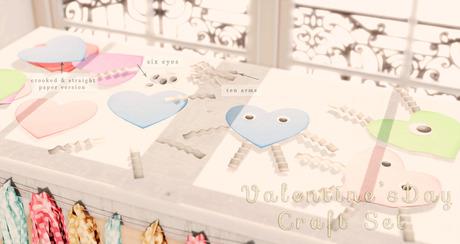 Mannequin - Valentines Day Craft Set { Purple }