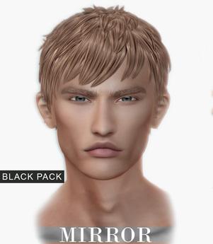 MIRROR - Justin Hair -Black Pack-