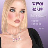 [WitchCraft] Mother Goddess Necklace - silver -