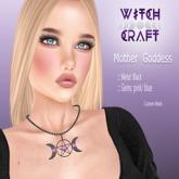 [WitchCarft] Mother Goddess Necklace - black -