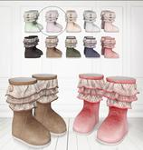 Dabnie Boots - Sugar Pearl