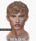 MIRROR - Justin Hair -Brown Pack-