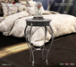 <Heart Homes> The Rose Silver Table (Boxed)