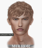 MIRROR - Justin Hair -Ginger Pack-