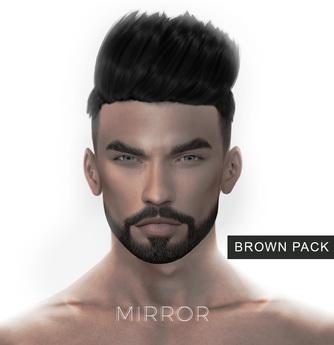 MIRROR - Han Hair -Brown Pack-