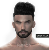 MIRROR - Han Hair -Grey Pack-