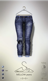 [sYs] MELLOW jeans (fitted & body mesh) - raw GIFT <3